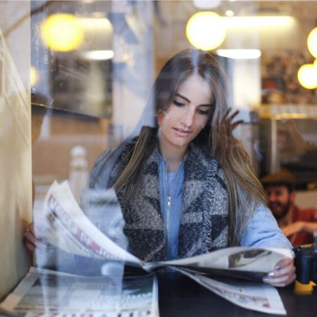 girl-newspaper